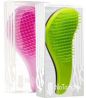 No Tangle Styler Brush - zielona